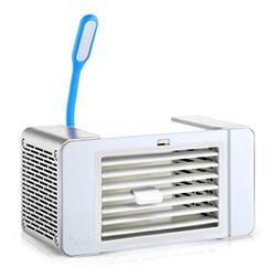 Dreamyth USB Charging Mini Portable Air Conditioner Fan Refr