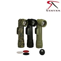 New USGI OD Green Military Issue AngleHead Flashlight D-Cell