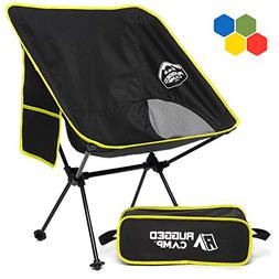 Rugged Camp Versalite Portable Folding Chair - for Camping,
