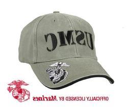 VINTAGE OLIVE DRAB USMC LOW PRO CAP