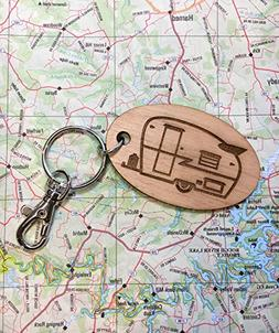 Vintage Shasta Travel Trailer Key Fob