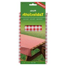 "Coghlans 7920 54"" X 72"" Tablecloth Assorted Colors"