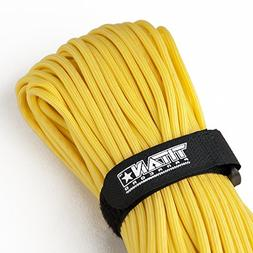 TITAN WarriorCord | YELLOW | 103 CONTINUOUS FEET | Exceeds A