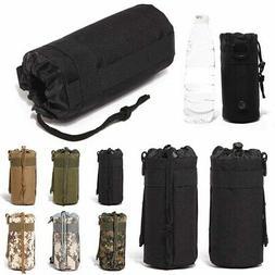 Water Bottle Kettle Bag Camping Hiking Climbing Military Gea
