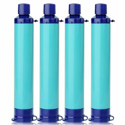 Water Filter Purification Emergency Gear Straw Camping Hikin