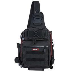 Piscifun Water-Resistant Outdoor Tackle Bag Single Shoulder