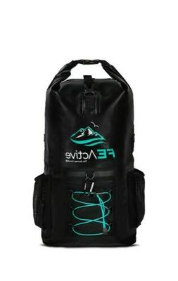FE Active Waterproof Backpack 20L Dry Bag Beach, Fishing, Ka