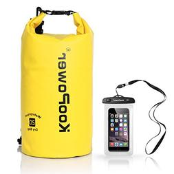 Koopower Waterproof Bag Drybag 20L Dry Gear Backpack with Un
