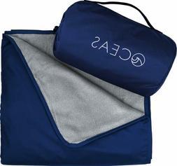 Oceas Outdoor Waterproof Blanket Warm Fleece Great for Campi