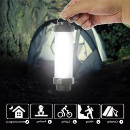 Dreamyth Waterproof LED Camping Light with 5 Modes USB Recha