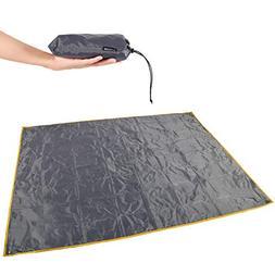 """REDCAMP Waterproof Camping Tent Tarp - 83"""" x83, 4 in 1 Multi"""