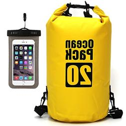 Waterproof Dry Bag - Roll Top Dry Compression Sack Keeps Gea