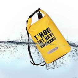 PROMUN Waterproof Sports Dry Bag Drift Bag Roll Top Floating