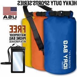 Waterproof Dry Bag Roll Top Dry Gear Bag for Kayak, Fishing,