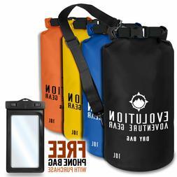 Waterproof Dry Bag Roll Top Gear Bag Kayaking, Fishing, Camp