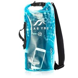 Acrodo New Waterproof Dry Bag Transparent Arctic Blue 10 Lit