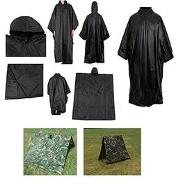Ultimate Arms Gear Waterproof Rip Stop Black Military G.I. S