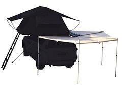 Hasika All-Weather Car Batwing Awning Side Rooftop Tent Sun