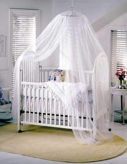 White Baby Canopy Mosquito Net for Cot