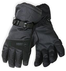Winter Ski & Snowboard Gloves with Wrist Leashes - Waterproo