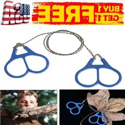 Wire Saw Camping Stainless Steel Emergency Pocket Chain Saw