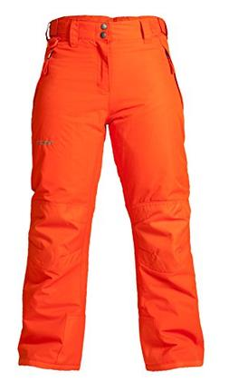 Arctix Youth Snow Pants with Reinforced Knees and Seat, Suns